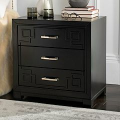 Safavieh Greek Key 3-Drawer Nightstand