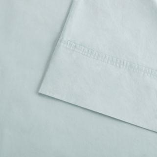 Madison Park Soft Wash 300 Thread Count Cotton Percale Sheet Set
