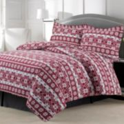 Oslo 3-piece Flannel Printed Duvet Cover Set