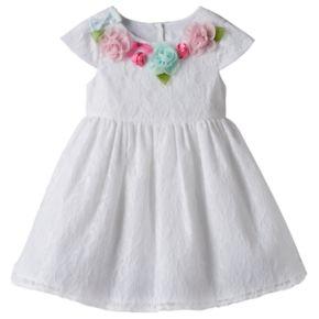 Baby Girl Marmellata Classics Rosette Dress
