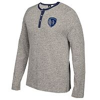 Men's adidas Sporting Kansas City Lifestyle Henley