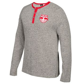 Men's adidas New York Red Bulls Lifestyle Henley
