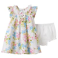 Baby Girl Marmellata Classics Floral Dot Dress
