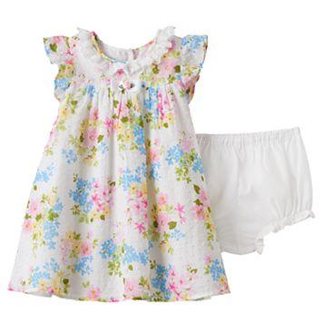 Baby Girl Marmellata Classics Floral Dot Dress