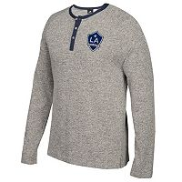 Men's adidas Los Angeles Galaxy Lifestyle Henley