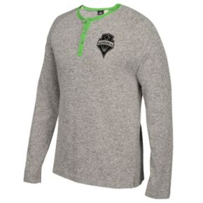 Men's adidas Seattle Sounders Lifestyle Henley