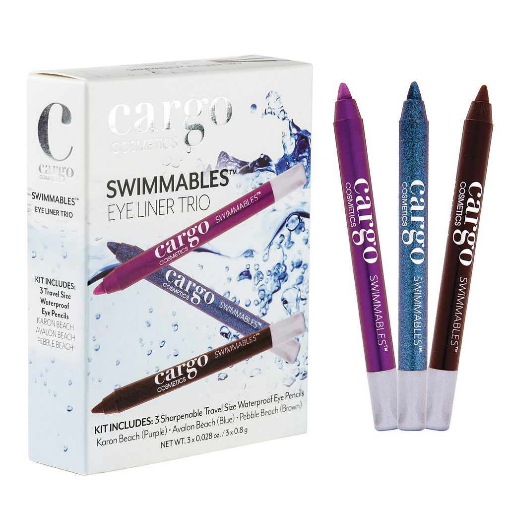 CARGO Swimmables Mini Eyeliner Trio