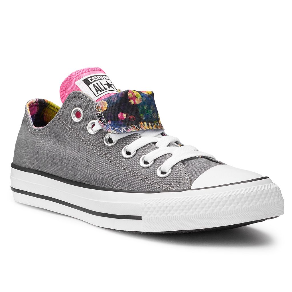 Women's Converse Chuck Taylor All Star Double Tongue Floral Sneakers