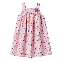 Toddler Girl Marmellata Classics Leaf Glitter Dress