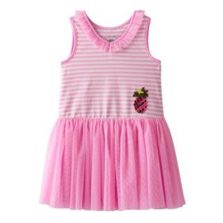 Toddler Girl Marmellata Classics Pineapple & Striped Tutu Dress