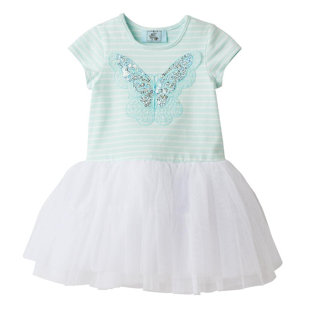 Toddler Girl Marmellata Classics Sequin Butterfly Tutu Dress