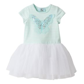 Toddler Girl Marmellata Classics Sequin Butterfly Tutu Dress