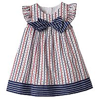 Toddler Girl Marmellata Classics Flutter Sleeve Stars, Hearts & Stripes Dress