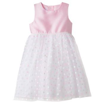 Toddler Girl Marmellata Classics Glitter Polka-Dot Skirt Dress
