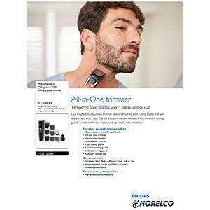Philips Norelco Multigroom 3000 Multipurpose Trimmer