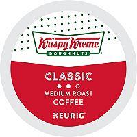 Keurig® K-Cup® Krispy Kreme Doughnuts Smooth Light Roast Coffee - 18 pk