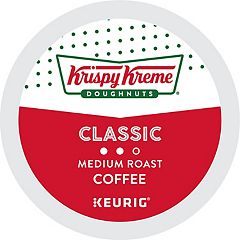 Keurig® K-Cup® Krispy Kreme Doughnuts Smooth Light Roast Coffee - 18 pk