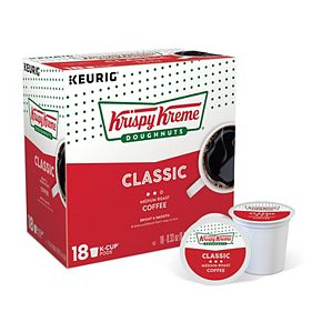 Keurig® K-Cup® Krispy Kreme Doughnuts Smooth Medium Roast Coffee - 18-pk.