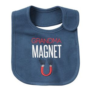 Baby Boy Carter's Slogan Bib