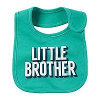 Baby Boy Carter's Slogan Bib