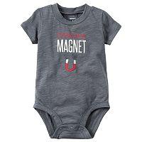 Baby Boy Carter's Slubbed Slogan Bodysuit