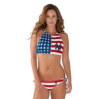 Women's New York Yankees Patriotic 2-Piece Bikini Swimsuit