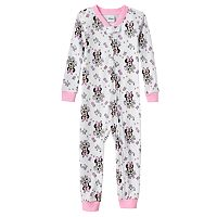 Disney's Minnie Mouse Toddler Girl One-Piece Pajamas