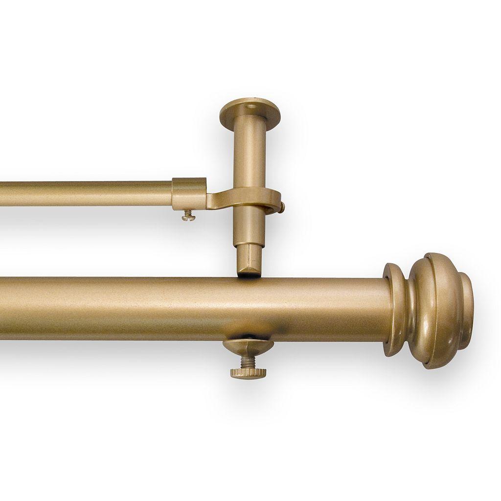 Contato Convertible Double Curtain Rod
