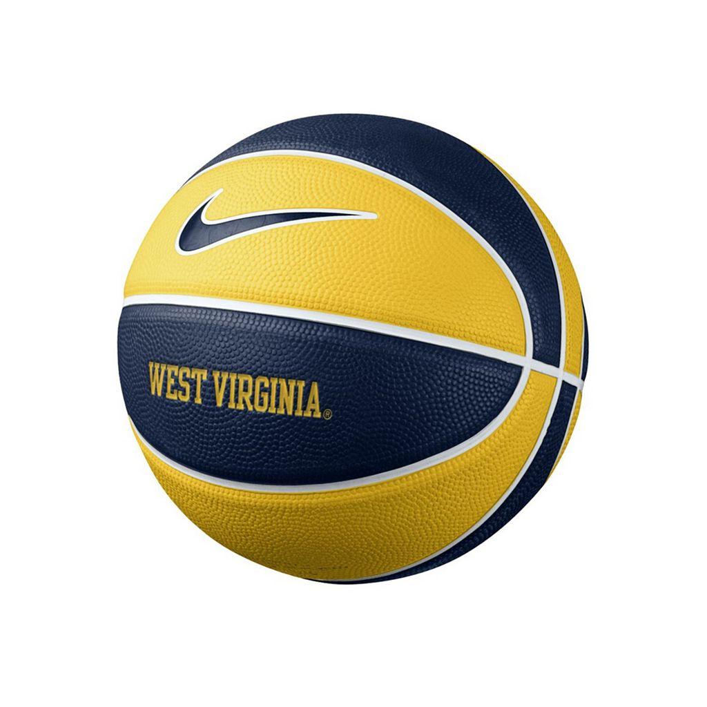 Nike West Virginia Mountaineers Mini Basketball
