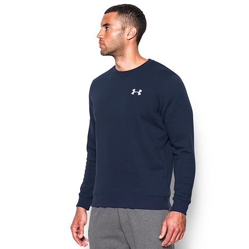 Men's Under Armour Fitted Fleece Crewneck Top
