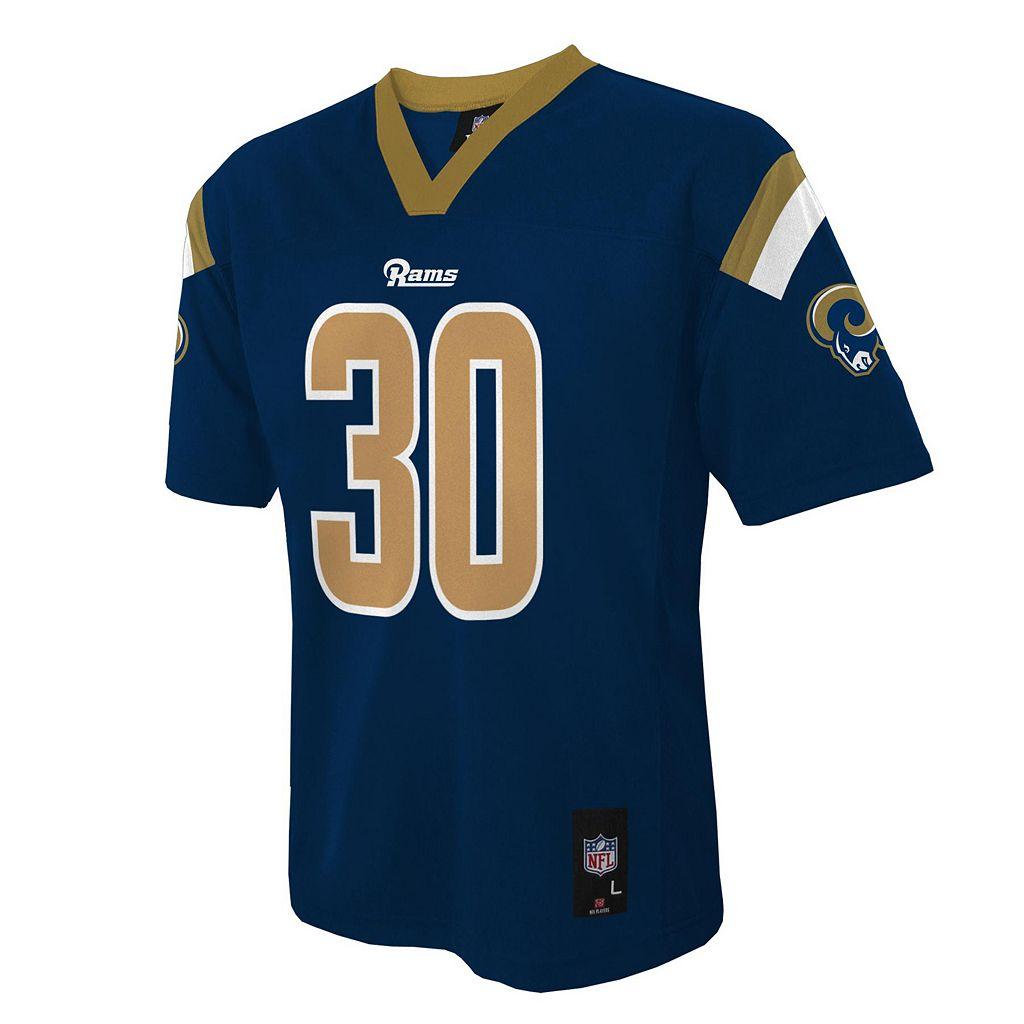 Boys 8-20 Los Angeles Rams Todd Gurley NFL Replica Jersey