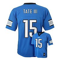 Boys 8-20 Detroit Lions Golden Tate NFL Replica Jersey