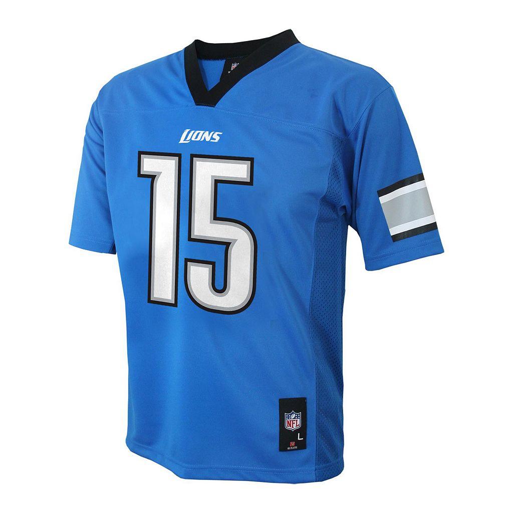 Boys 8-20 Detroit Lions Golden Tate NFL Replica Jersey