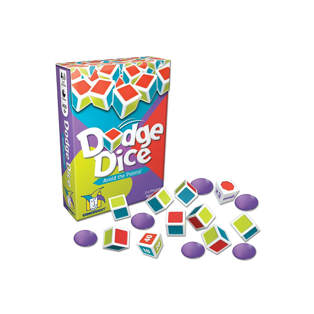Dodge Dice Game by Gamewright
