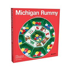 Michigan Rummy Game by Pressman Toy