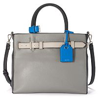 REED RK40 Medium Belted Convertible Satchel