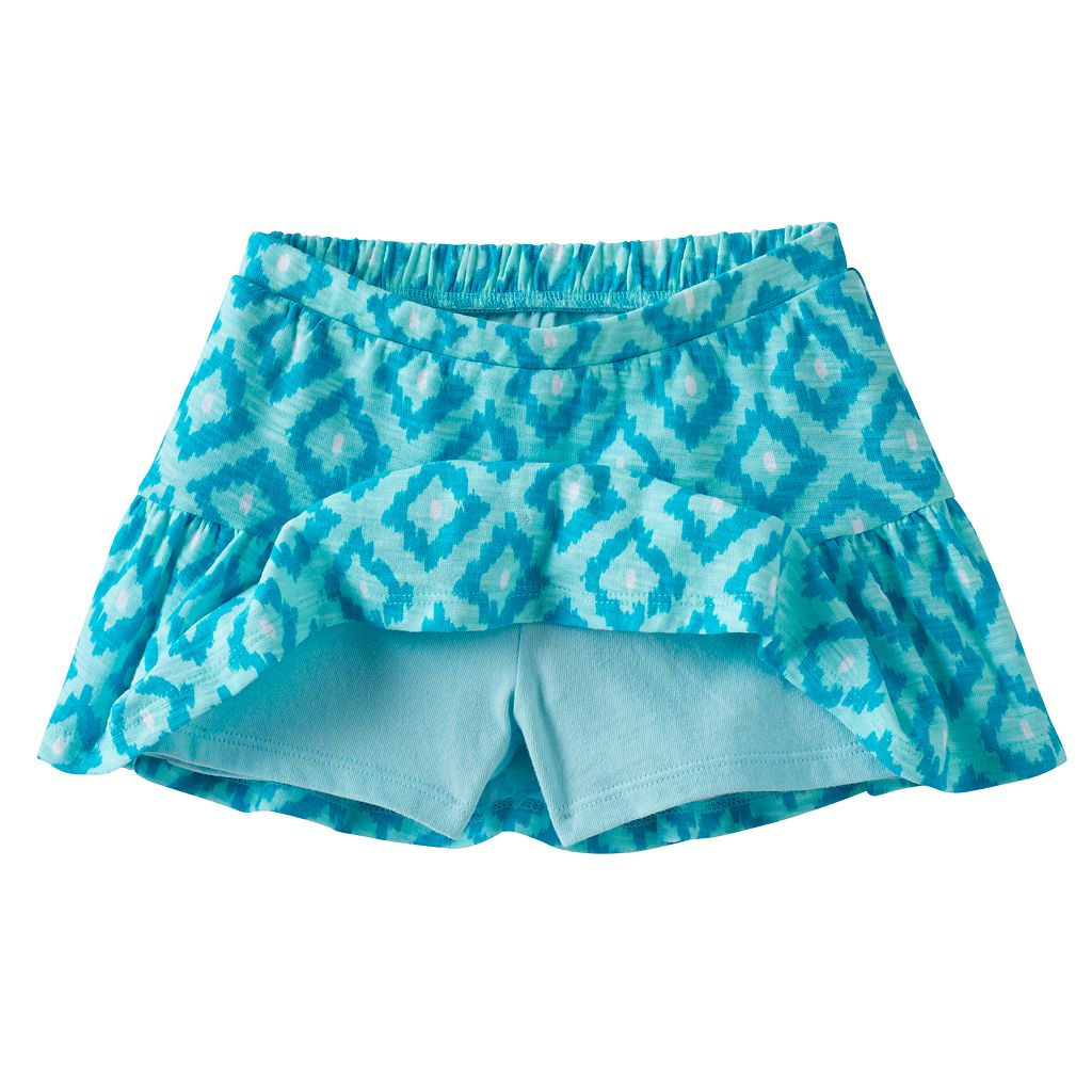 Toddler Girl Jumping Beans® Print Ruffled Skort