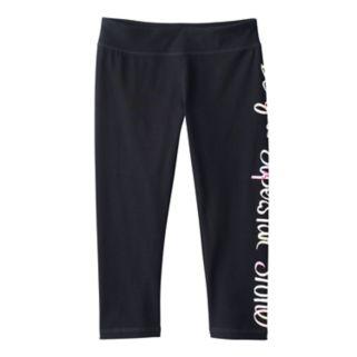 Girls 7-16 & Plus Size SO® Leg Graphic Capri Yoga Pants