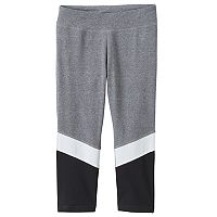 Girls 7-16 & Plus Size SO® Colorblocked Capri Leggings
