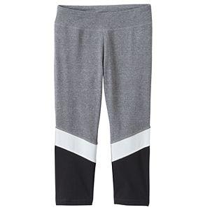 Girls 7-16 & Plus Size SO® Colorblocked Capri Leggings