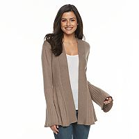 Women's Apt. 9® Pleated Cardigan