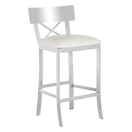 Swell Safavieh Cross Back Counter Stool Spiritservingveterans Wood Chair Design Ideas Spiritservingveteransorg