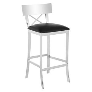 Safavieh Cross-Back Bar Stool