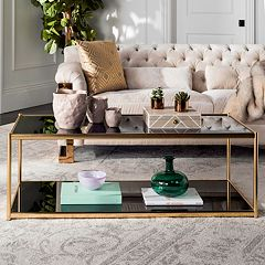 Safavieh Modern Glass Coffee Table