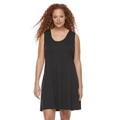 Plus Size Rock & Republic® Crochet Back Dress