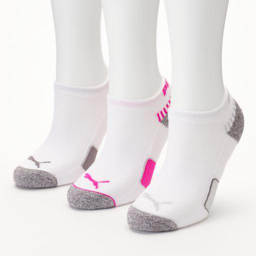 Women's PUMA 3-pk. Low-Cut Socks