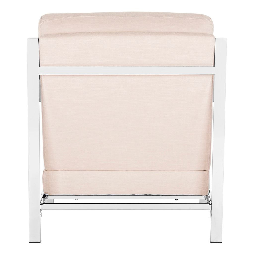 Safavieh Modern Chrome Finish Accent Chair