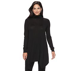 Women's Apt. 9® Turtleneck Tunic Sweater