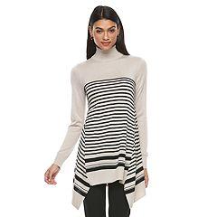 Women's Apt. 9® Turtleneck Tunic Sweater
