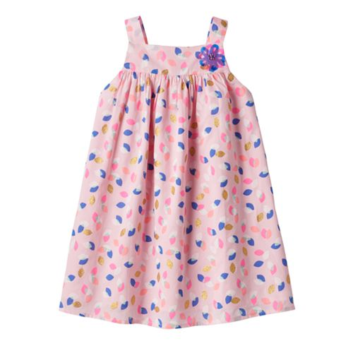 Girls 4-6x Marmellata Classics Leaf Glitter Dress